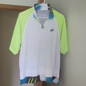 Vintage Nike Andre Agassi Challenge Court Polo
